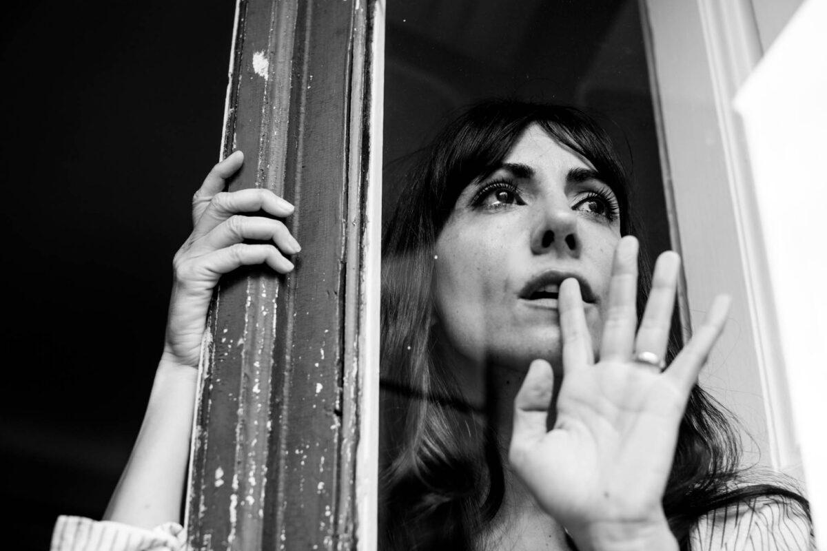 Alicia Fernandez actriz llora