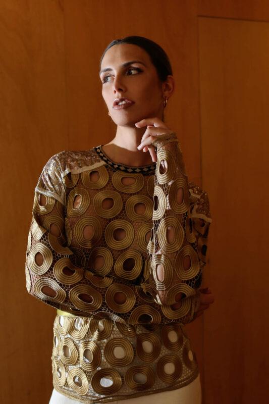 Angela Ponce moda