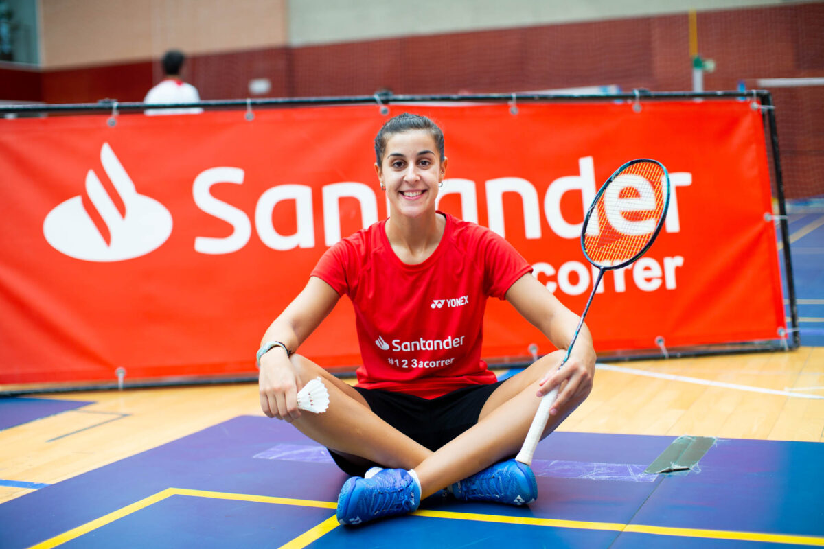 Carolina Marin badminton santander